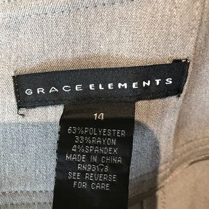 Grace Elements Skirts - Grace Elements | Allaire Straight Skirt